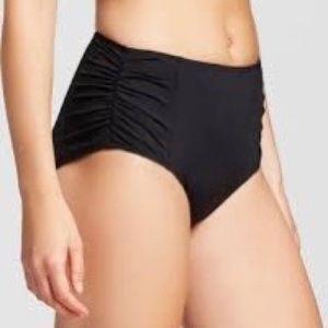 Mossimo High-Waisted Bikini Bottoms size L